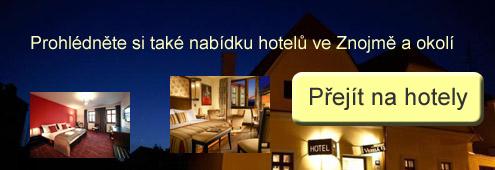 Ubytování Znojmo - hotely
